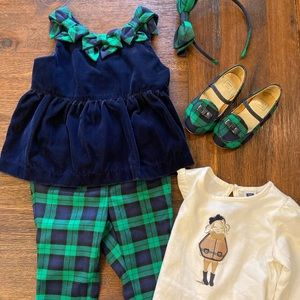 Janie and Jack Holiday Outfit (12-18mo)